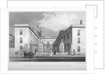 View of Vintners' Hall, Upper Thames Street, City of London by R Acon