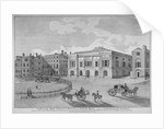 View of Trinity House from Trinity Square, City of London by
