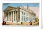 South-west view of the Royal Exchange, City of London by