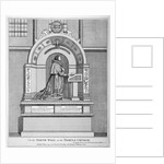 Monument to Richard Martin, Recorder of London, Temple Church, City of London by Anonymous