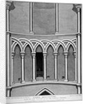 Part of the vestibule of the Temple Church, City of London by John Thomas Smith