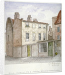 Back view of no 8, White Street, Moorfields, City of London by Charles James Richardson