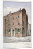 View of no 8 White Street, Moorfields, City of London by Charles James Richardson