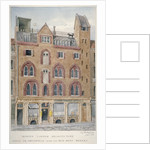 View of a house in West Smithfield facing the meat market, City of London by Charles James Richardson