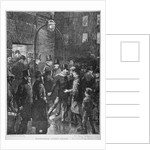 Scene at Whitecross Street Prison showing a release of prisoners, London by Anonymous