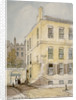 View of Whitefriars showing the corner of Lombard Street, City of London by