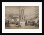 Prince Albert laying the first stone of the new Royal Exchange by Thomas Allom