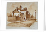 View of the Black Lion Inn, Church Street, Chelsea, London by Anonymous