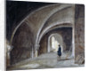 Crypt under the Church of St James in the Wall, Wood Street Square, City of London by