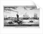 View of Deptford across the River Thames, London by Anonymous