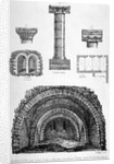 Details of the remains of Prior of Lewes' Inn, Tooley Street, Bermondsey, London by Anonymous