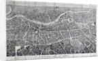 View of London from the north as seen from a balloon by Anonymous