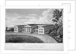 View of the London Orphan Asylum, Clapton, Hackney, London by R Baker