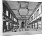 Interior view of the new chapel, Royal Naval Hospital, Greenwich, London by