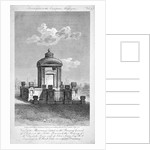 Monument in the churchyard of St Giles in the Fields, Holborn, London by Samuel Rawle