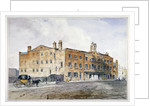 Premises of George March, licensed rectifier, in Cobham Row, Holborn, London by Anonymous