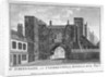 View of St John's Gate, Clerkenwell, London by