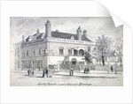 View of the Green Gate Tavern, City Road, Finsbury by Anonymous
