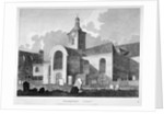 View of the Church of St Mary Magdalen, Bermondsey, London by