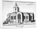 View of the Church of St Mary Magdalen, Bermondsey, London by James Peak