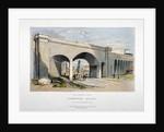 London and Greenwich Railway bridge over the Neckinger Road, Bermondsey, London by GF Bragg