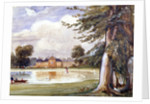 View of Kensington Palace, Kensington, London by Edmund Marks