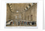 View of an event in the Freemasons' Hall, Great Queen Street, Holborn, London by