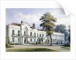 View of Brompton Lodge, Kensington, London by