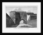 Gateway of King John's Palace at Old Ford, Poplar, London by
