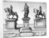 Statues of Kings Charles I and II by Anonymous
