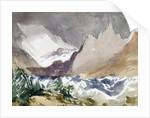 Swiss Mountain Landscape by