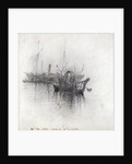 Study of Shipping by John Ruskin