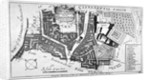 Map of Charterhouse and Cow Cross showing adjoining parishes and wards, London by Anonymous