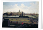 Prospect of the City from the North, London by Anonymous