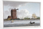 Brunswick Dock, Blackwall, London by Charles Tomkins