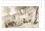 Warriors Resting by Sir John Gilbert