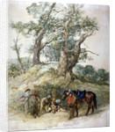 A Halt by Sir John Gilbert