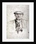 Old Man in a Flat Cap by Anna Lea Merritt