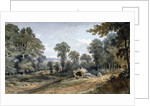 View of Bayswater Hill, London by William Crotch