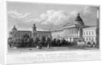 University College, Gower Street, London by W Wallis