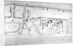 Plan of Bankside, Southwark, London by Anonymous