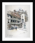 View of the George Inn, Borough High Street, Southwark, London by Anonymous