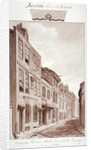 View of Prince's Street, looking north, Lambeth, London by