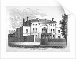 Manchester House, on the north side of Manchester Square, Marylebone, London by James Peller Malcolm