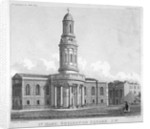 St Mary's Church, Bryanston Square, Marylebone, London by Anonymous