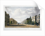 View of Langham Place and Portland Place, Marylebone, London by Anonymous