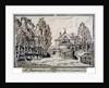 The Jew's Harp Public House tea gardens near the top of Portland Place, Marylebone, London by Anonymous