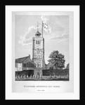 Old St Leonard's Church, Shoreditch, London by Bernard Lens