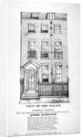 View of the residence of Queen Caroline in Portman Street, Marylebone, London by