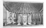 Interior view of the music room in Vauxhall Gardens, Lambeth, London by Anonymous